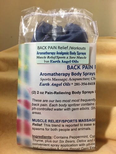 Back Pain Relief Body Spray Aromatherapy Gift