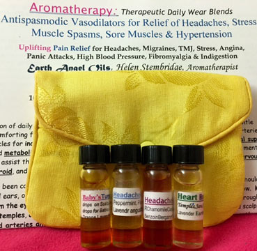 Headache Relief/Aromatherapy FourPack