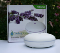 Ultrasonic Diffuser, Hibiscus, White Ceramic