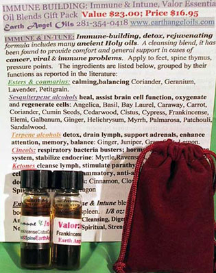 Immune Building/Chakra Pack (in Gift Bag & Gold Gift Box)