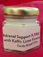 Adrenal Support Cream with Kaffir Lime in White Gift Box