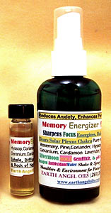 Memory Energizer/Exams Spray/Blend Combo