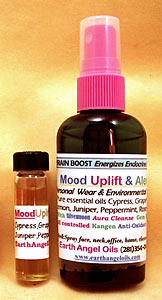 Mood Uplift/Alert Spray/Blend Combo