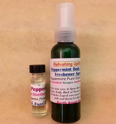 Peppermint Uplifting Spray/Oil Combo
