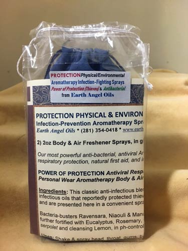 *Protection/Physical Infection-Fighting Aromatherapy Spray Gift